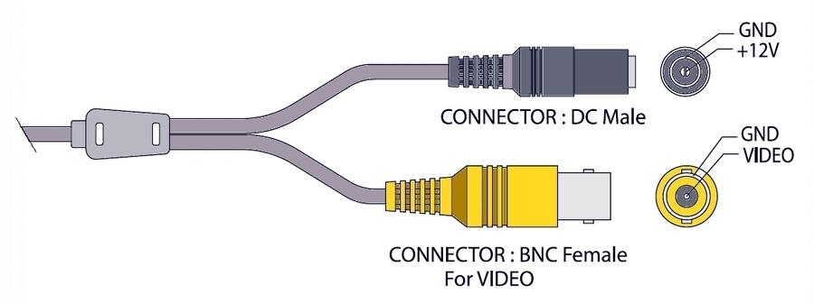 Камера everfocus ez 350 схема подключения проводов